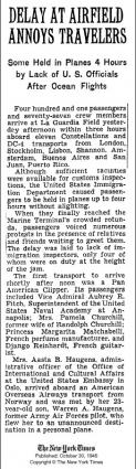 1946 Django Arriving in New York
