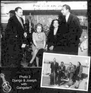 7. 1945 Django Baro Bar Opening 1945 Signed caption