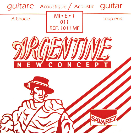 Argentine Single E Strings 1011MF 11 Gauge - Loop End(10 Pack)