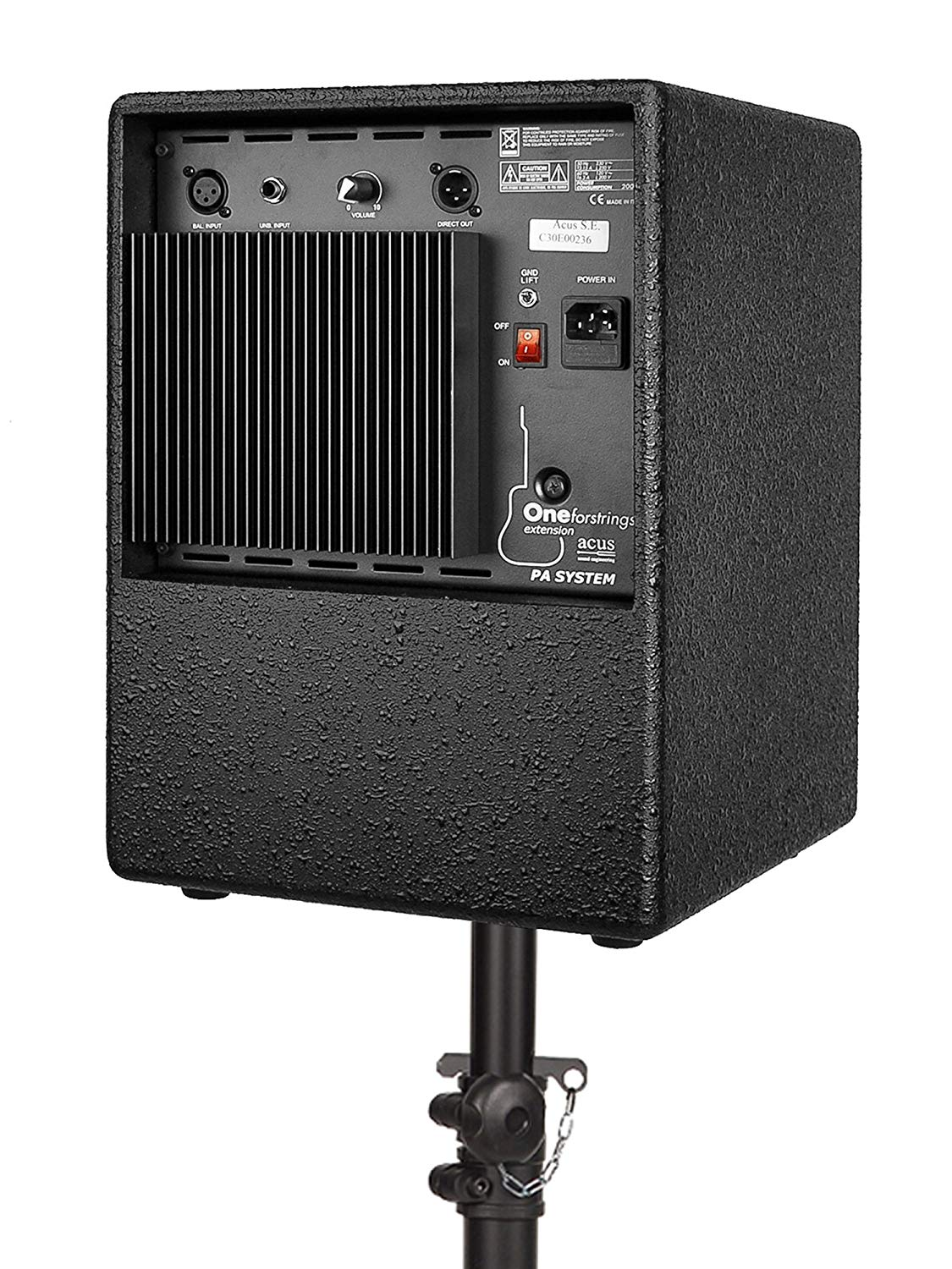 Acus One for Strings Extension Cabinet (black)