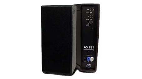 AER AS 281 ACTIVE PA SPEAKER and GIGBAG