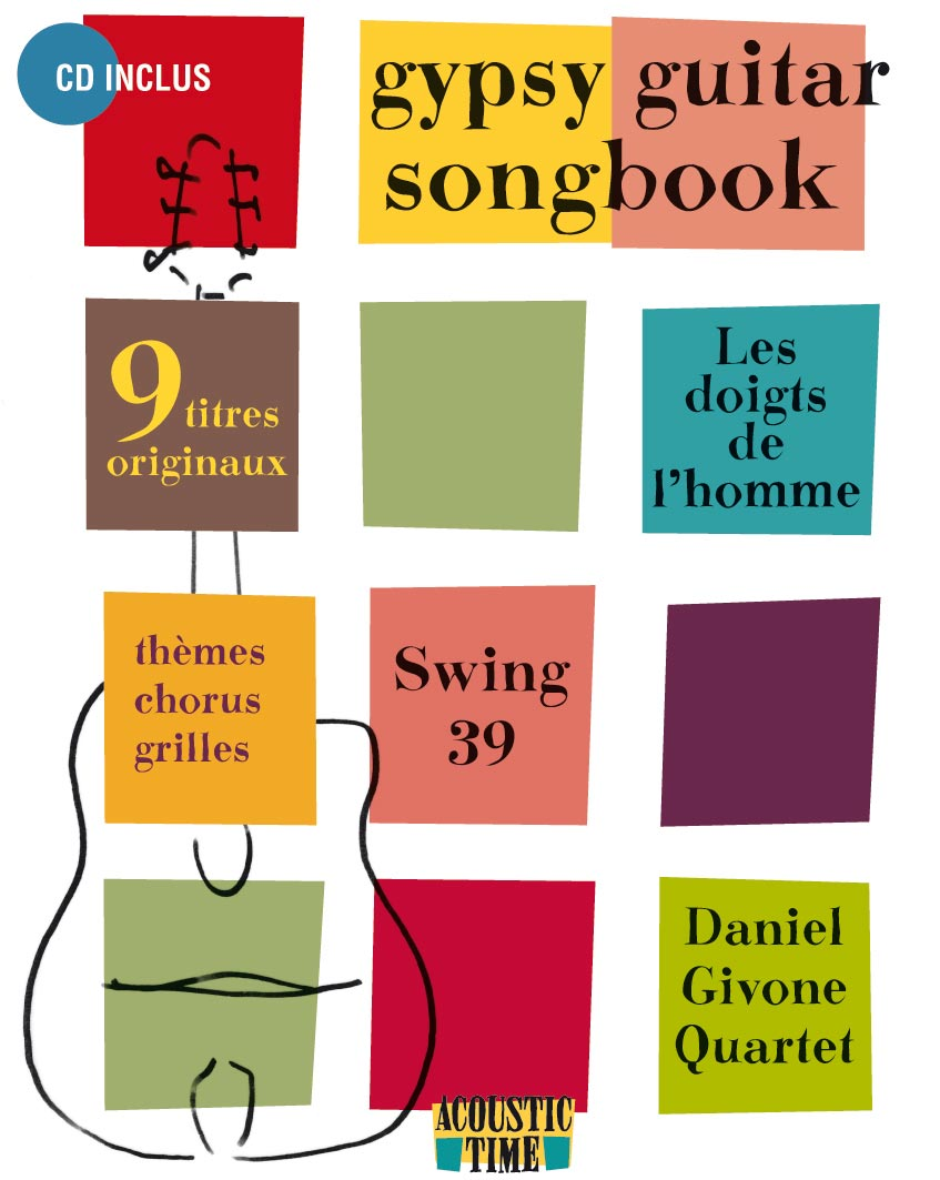 Daniel Givone - Gypsy Guitar Songbook (French and English) w/CD