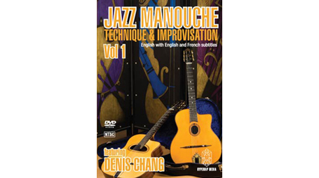 Denis Chang DVD Jazz Manouche: Technique & Improvisation Volume 1