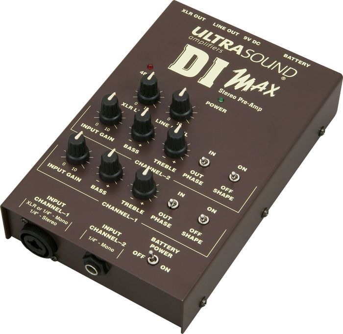 UltraSound DI Max Acoustic Guitar Preamp