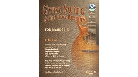 Dix Bruce Gypsy Swing & Hot Club Rhythm for Mandolin with CD