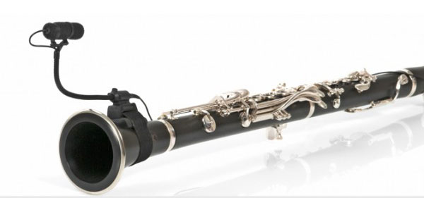 DPA d:vote 4099-U (Universal Mic for Flute, Clarinet, etc. w/Clip)