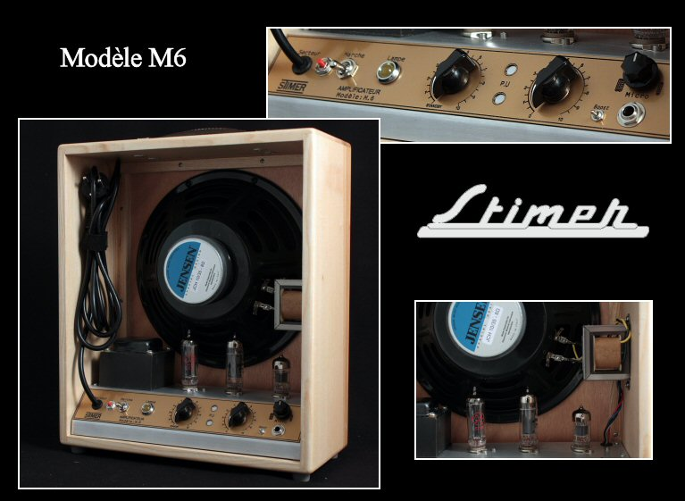Stimer Modèle M6 Amplifier (made by Maurice Dupont)