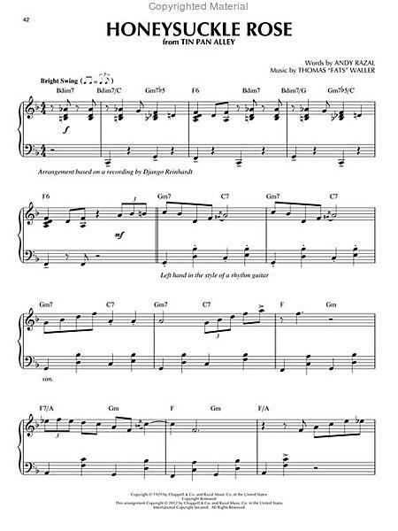 Gypsy Jazz - Jazz Piano Solos Series Volume 20