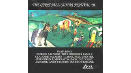 Patrick Saussois, The Limberger Quartet, Diz Disley, Ian Cruickshank and more The Gypsy Guitar Festi