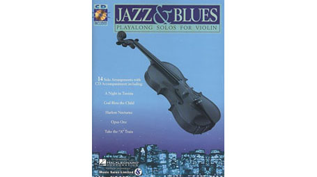 Jazz & Blues Playalong Solos for Violin