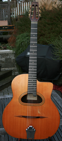 ***NEW PRICE!!!*** Jean-Pierre 1990 Favino 14 Fret D Hole Guitar with Hardshell Case ***SOLD!!!***