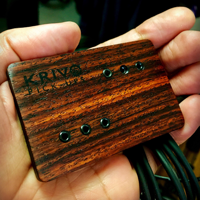 Krivo Humbucking Pickup for Resophonic Guitars