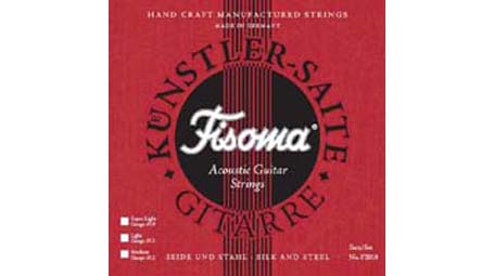 Lenzner Fisoma Silk and Steel Gypsy Jazz Strings - Super Light (10-44) F2010 SL