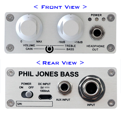 Phil Jones Bass BigHead Headphone Ampliifer