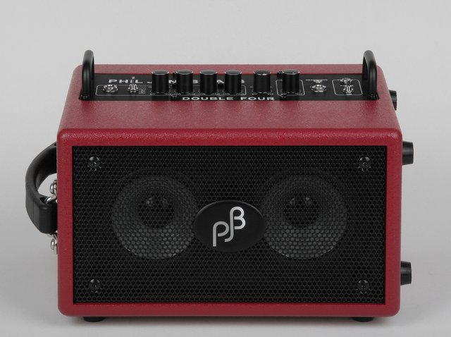 Phil Jones Bass Double Four BG-75 RED