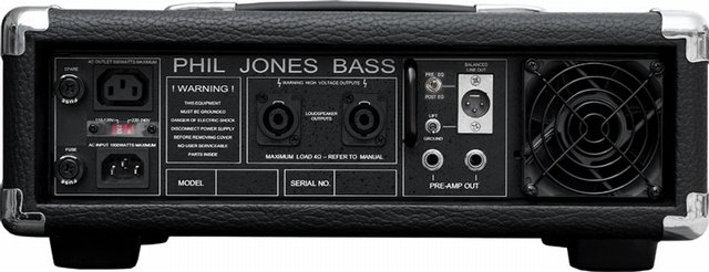 Phil Jones Bass M-500 Bass Amplifier