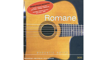 Romane Acoustic Spirit 2 CDs CD-ROM with TAB and Play-Along Tracks
