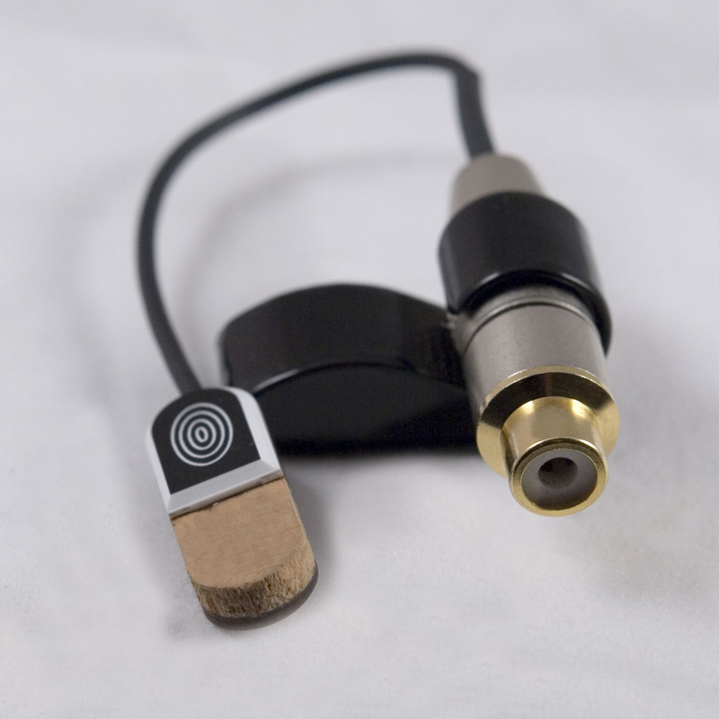 Schertler STAT-MACC PRO Electrostatic Transducer for Maccaferri-Selmer guitars (w/Yellow Single)