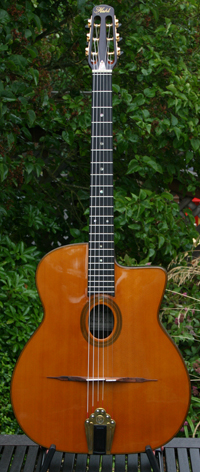 Stefan Hahl ''Night Wind'' 2008 Deluxe Gitano Oval Hole Guitar (60 yr Aged Spruce Top - 60 yr Aged B