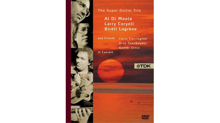 The Super Guitar Trio  Al Di Meola, Larry Coryell & Bireli Lagrene and Friends In Concert DVD (Zone
