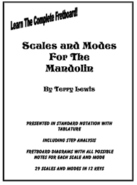 eBook: Terry Lewis  Scale and Mode Book for the Mandolin