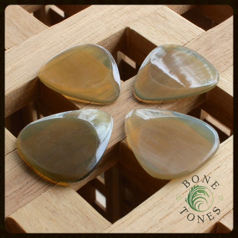 Bone Tones Clear Horn Pack of 4