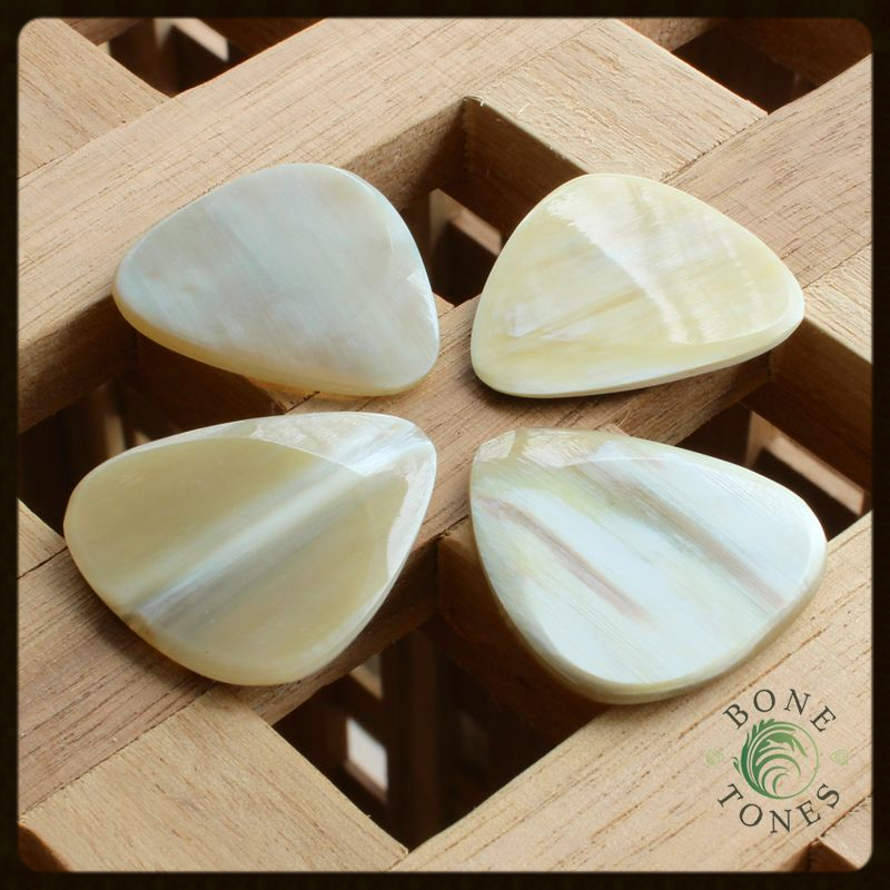 Bone Tones White Horn Pack of 4