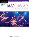 Jazz Classics - Instrumental Play-Along for Violin