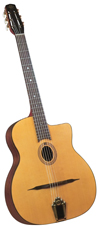 Saga Cigano GJ-0 STUDENT GYPSY JAZZ GUITAR - PETITE BOUCHE STYLE JAZZ GUITAR (Laminate Top)