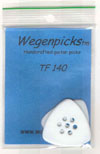 Wegen TF 140 Picks (2 Pack) LEFT HANDED (White)