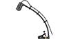 Audio-Technica ATM350UL Cardioid Condenser Instrument Microphone