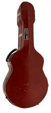 USED Calton Custom Gypsy Jazz Flight Case (Selmer Size- 15 3/4'')