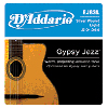 D'Addario Gypsy Jazz Strings Light (10-44) EJ83L Ball Ends