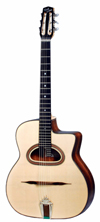 DELL'ARTE DG-H1 HOMMAGE (FAVINO STYLE) GUITAR ***THIS MODEL HAS BEEN DISCONTINUED***
