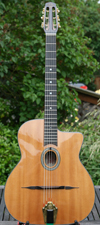 2003 DELL'ARTE OVAL-HOLE MANOUCHE GUITAR WITH CASE (US MADE) ***SOLD!!!***