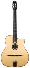 DELL'ARTE DG-AD1 ANGELO DEBARRE (FAVINO STYLE) GUITAR ***THIS MODEL HAS BEEN DISCONTINUED***