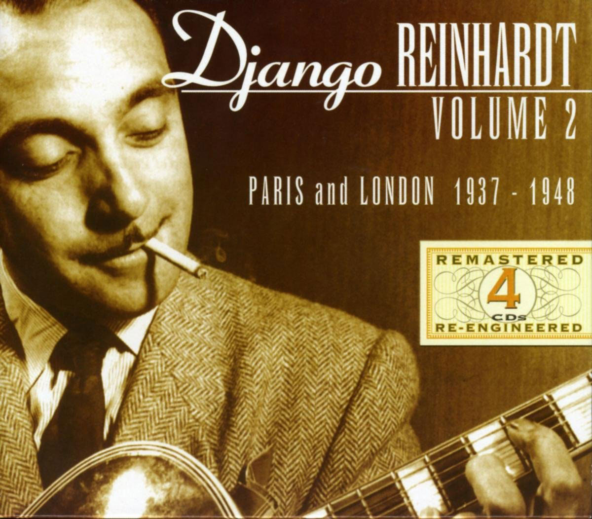 Django Reinhardt - Volume 2: Paris and London 1937-1948 4 CDs