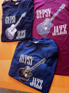 "Men's ""Gypsy Jazz"" And Selmer Style Guitar T-Shirt"