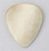 Dugain Flat Pick - Bone 4mm