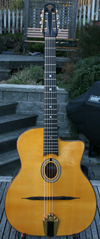 Maurice Dupont 2008 MD-50 Oval Hole Guitar (Indian Rosewood Back and Sides) with  Hardshell Case ***