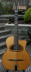 Maurice Dupont 2009 MC-60 CUSTOM D Hole Guitar (Santos Rosewood Back and Sides - Busato Neck) with