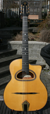 Maurice Dupont 2009 MDC-50 D Hole Guitar (Indian Rosewood Back and Sides) with  Hardshell Case ***SO