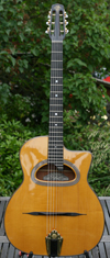 Maurice Dupont 2008 MDC-50 D Hole Guitar (Indian Rosewood Back and Sides) with  Hardshell Case ***SO