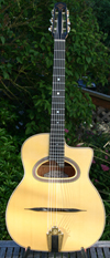 USED Maurice Dupont 2006 MDC-50B D Hole Guitar (Brazilian Rosewood Back and Sides) with  Hardshell C