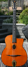 Maurice Dupont 2008 VRB Vieille Reserve Oval Hole Guitar (Brazilian Back and Sides - rare Bear Claw