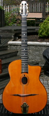 Maurice Dupont 2009 VRB Vieille Reserve Oval Hole Guitar (Brazilian Back and Sides) with Hardshell C