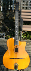 Maurice Dupont 2009 VRB Vieille Reserve Oval Hole Guitar (Brazilian Back and Sides)
