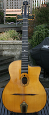Maurice Dupont 2005 VRB Vieille Reserve Oval Hole Guitar (Brazilian Back and Sides) with OHSC