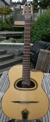 Bob Holo 2010 D Hole (Rosewood Back and Sides) with Hardshell Case
