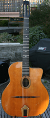 1965 Jacques Favino 14 Fret Oval Hole Guitar (Modele #10) with Hardshell Case ***SOLD!!!***